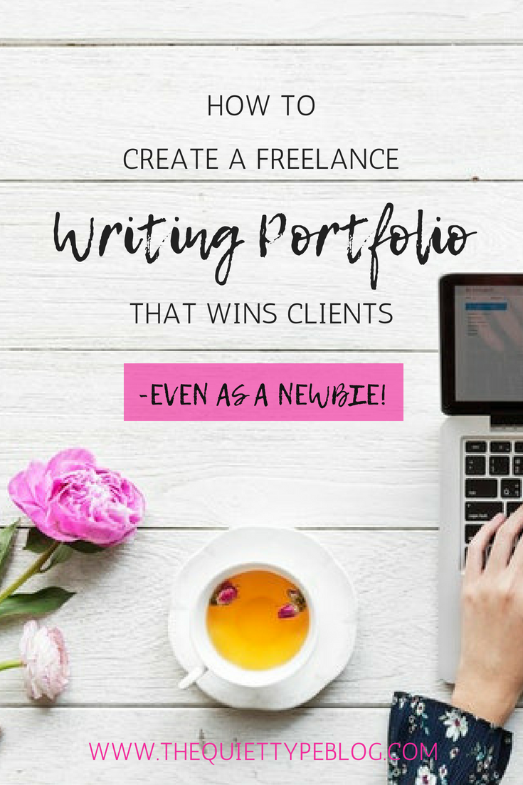Creating a killer freelance writing portfolio is the key to landing high paying clients as a freelance writer. Check out this tips on creating a freelance writing portfolio that will wow clients, even when you're just starting out! #FreelanceWriting #WorkFromHome #GetPaidtoWrite