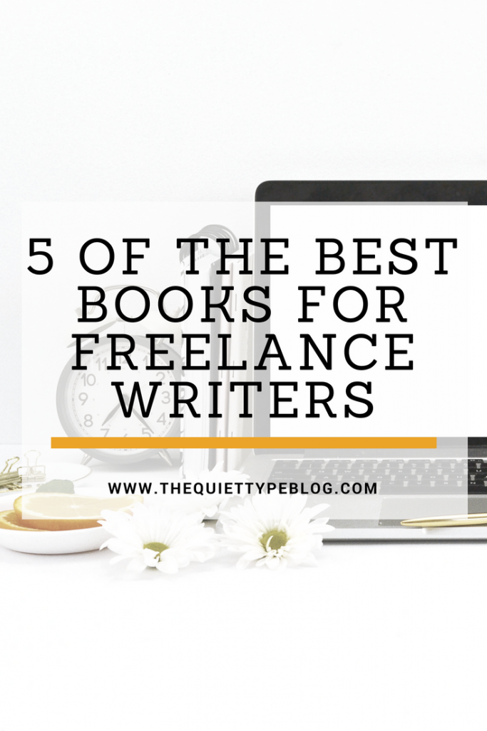 New to freelance writing? Here are 5 must read books that I recommend to newbie freelance writers!