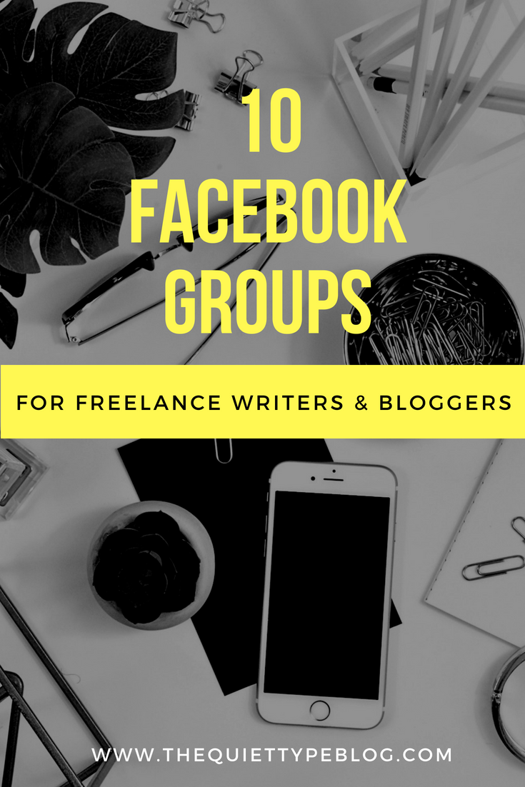 One of the great things about social media is connecting with like minded people! Use Facebook groups to market your business and services, connect with other freelance writers and bloggers, promote your social media accounts, and and drive traffic to your site!