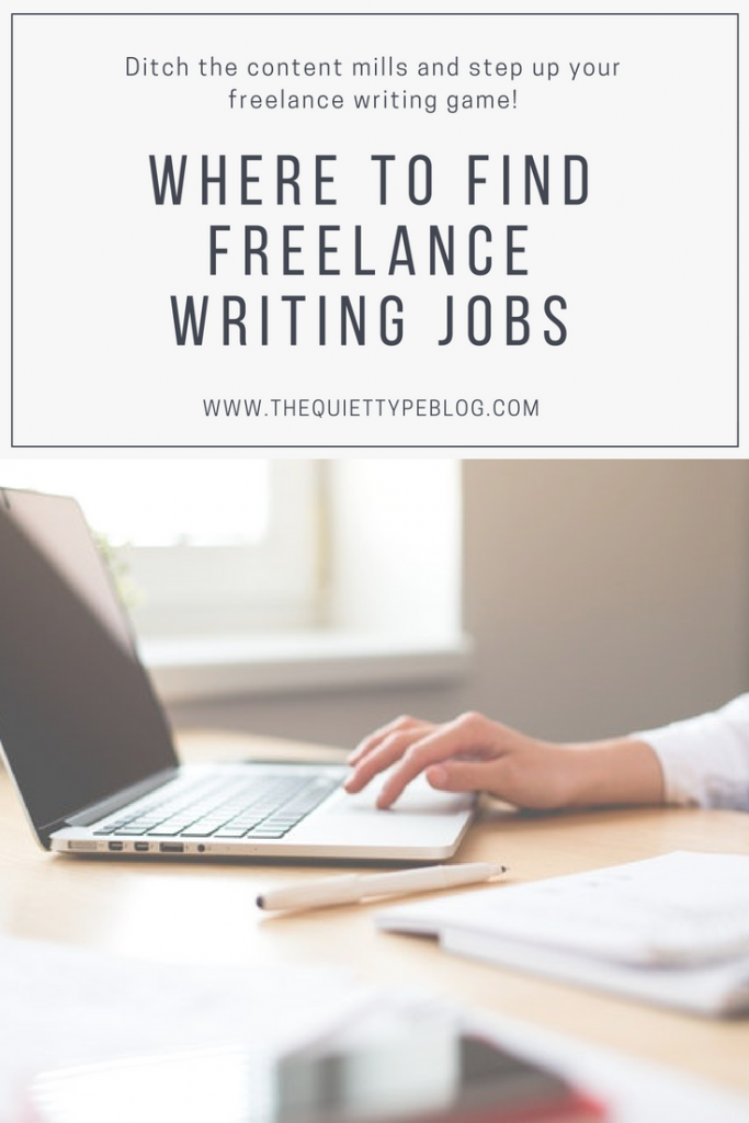 As a freelance writer, finding high paying writing jobs and quality clients is half the battle. Knowing where to look will not only help you succeed, it will also help you avoid accepting low paying jobs or getting stuck in the content mill rut. That's why I've compiled a list of my five favorite ways to find freelance writing jobs.
