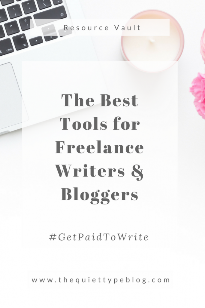 Do you want to get paid to write? Check out this curated list of tools to help freelance writers and bloggers get started. #makemoneyblogging #workfromhome #freelance