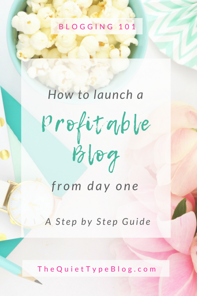 Check out this step by step guide on starting a money making blog from scratch! #blogging #makemoneyblogging #getpaidtowrite