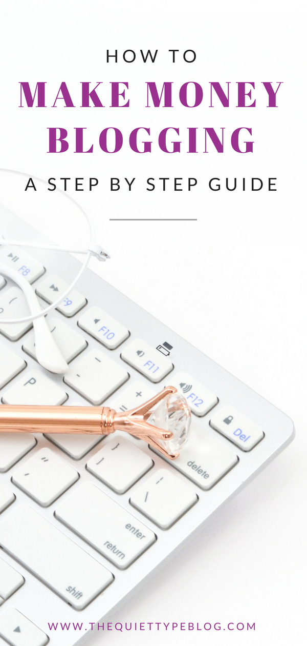 Learn to make money blogging with this in-depth guide to start a blog from scratch! #startablog #makemoneyblogging #blogging