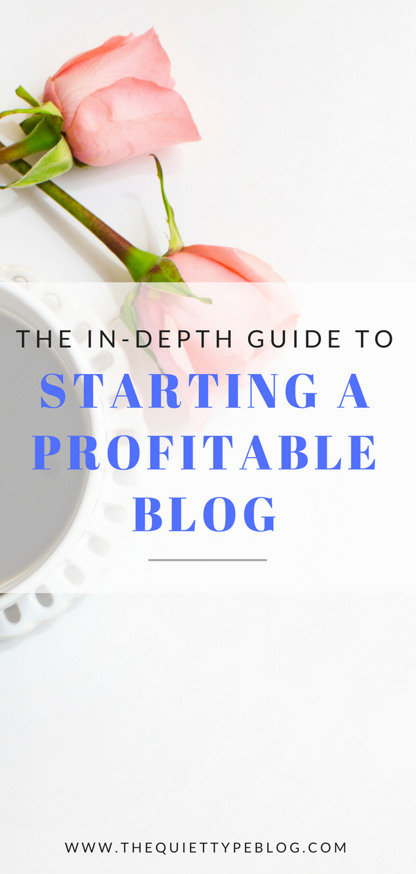 Check out this step by step guide to starting a successful (and profitable) blog! #makemoneyblogging
