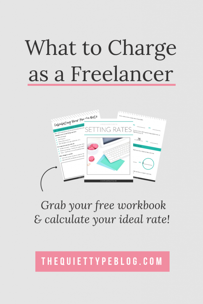 A beginner's guide to setting rates and what to charge as a freelance writer. #GetPaidToWrite #FreelanceTips #FreelanceWriting