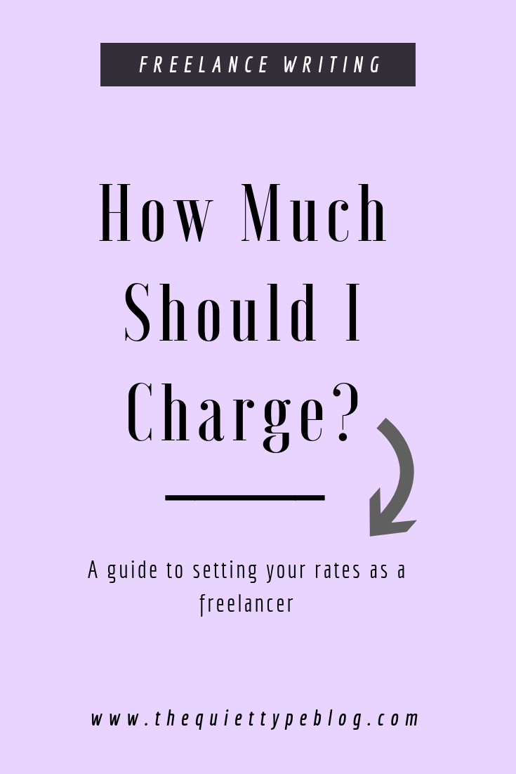 How much should you charge for freelance writing services? Here's how to calculate your ideal rate and replace your 9-5 income and make money working from home. #GetPaidToWrite #FreelanceTips