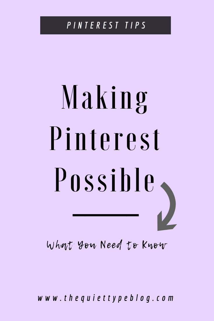 Everything you need to know about The She Approach's Guide to Making Pinterest Possible #PinterestTips