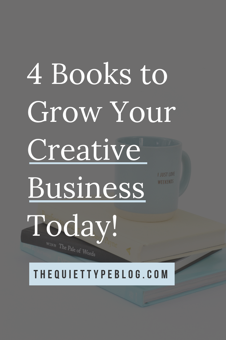 Looking for tips and advice on growing your creative business as a freelance writer? These 4 books are a must have!
