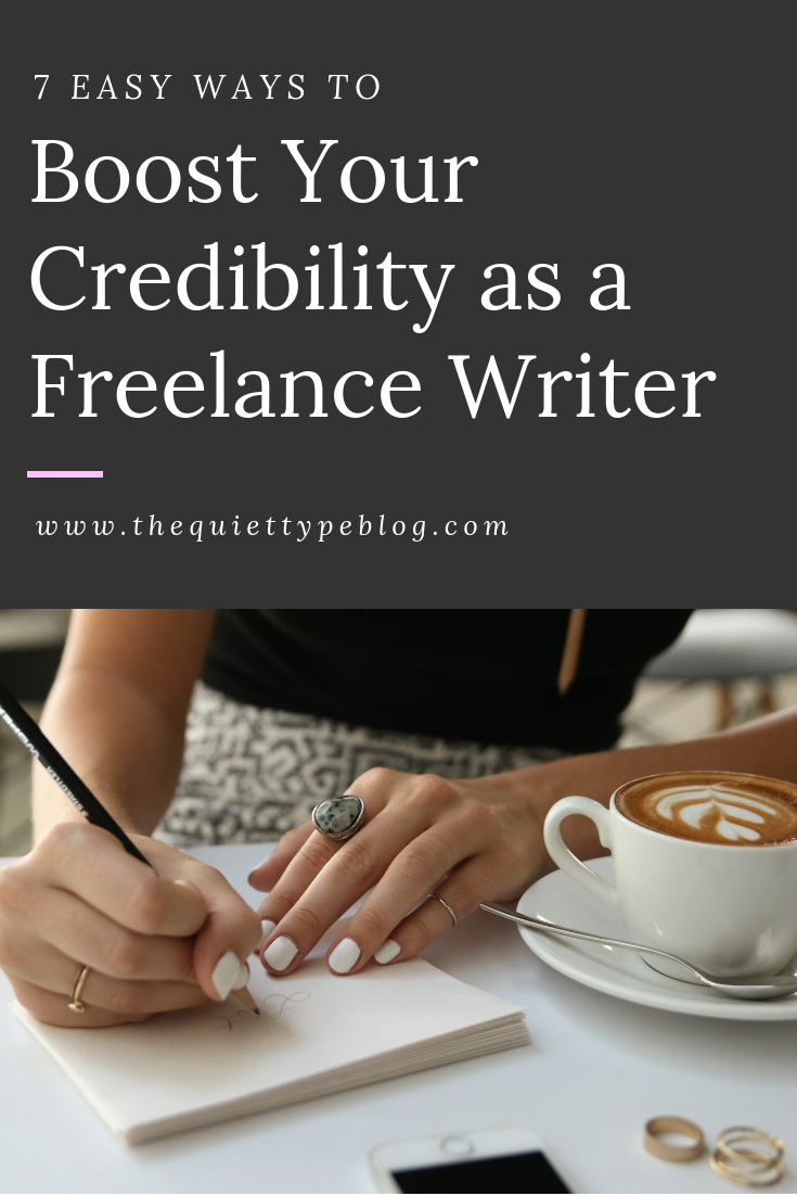 Here's how to boost your credibility as a freelance writer working from home and win freelance writing clients.