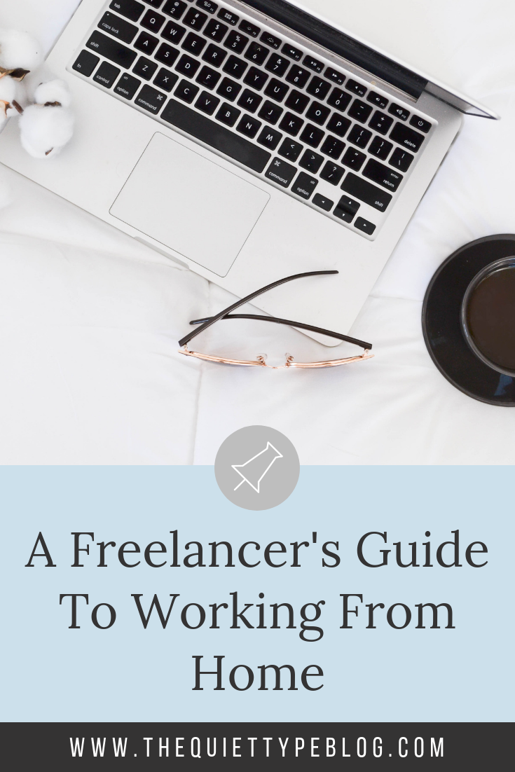 Learn to work from home as freelancer writer or creative entrepreneur with these six tips on setting up your office, staying productive, and avoiding burnout! #FreelanceTips