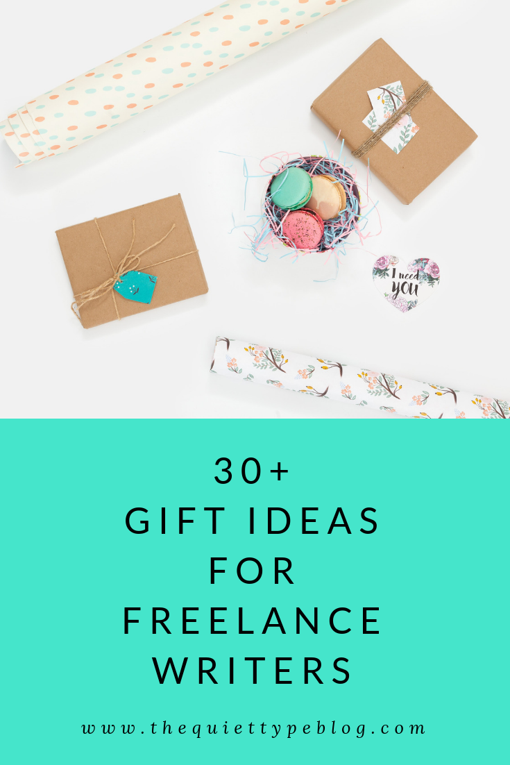 Check out this list of unique gift ideas for freelancer writers for some gift giving inspiration!