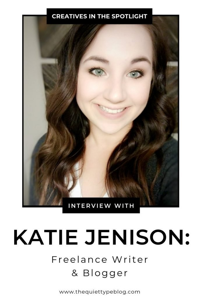 Here's how freelance writer and blogger, Katie Jenison, turned her copywriting business from a side hustle to a full-time gig.