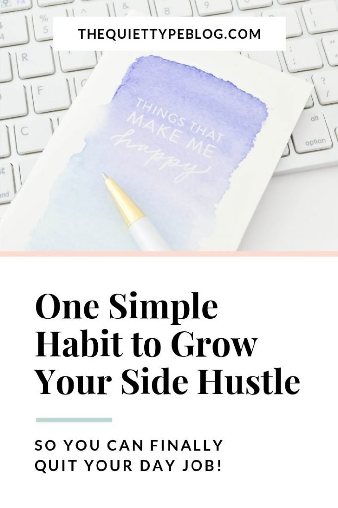 Did you know journaling can help you grow your business? Click to read the six ways journaling can help you grow your side hustle into a full-time income.
