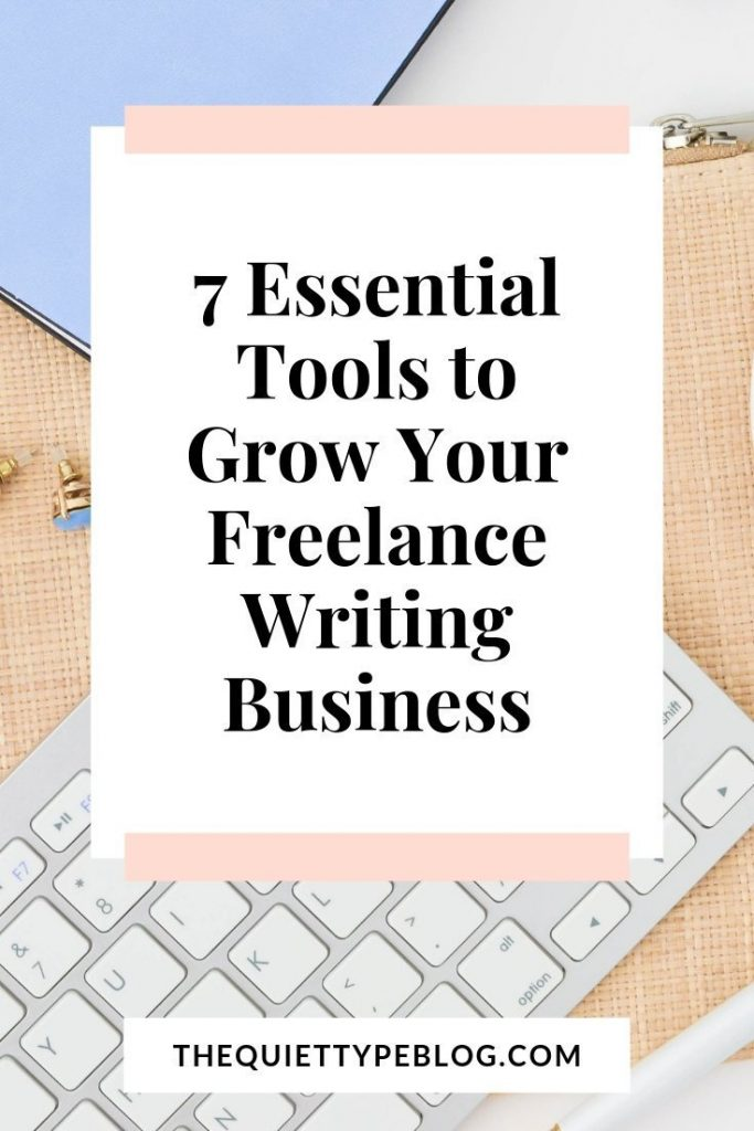 Are you a newbie freelance writer? Then you need to check out these 7 tools for freelance writers to use to connect with clients and grow your business! #workfromhome #freelance #freelancewriting