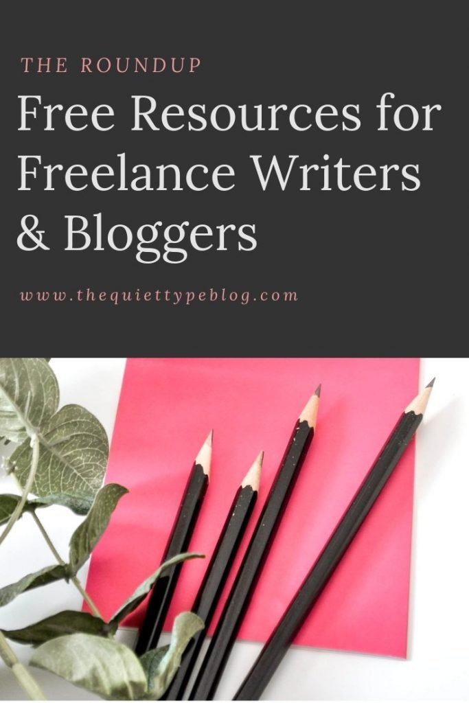 A roundup of the best free resources for freelance writers, bloggers, and creative entrepreneurs from April 2019. #workfromhome #businesstips #makemoneyblogging