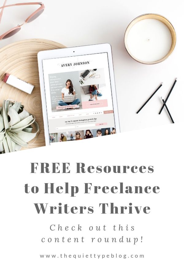 Check out this content roundup of free resources and tools to help freelance writers grow their business in 2019! #workfromhome #getpaidtowrite #freelancewriting