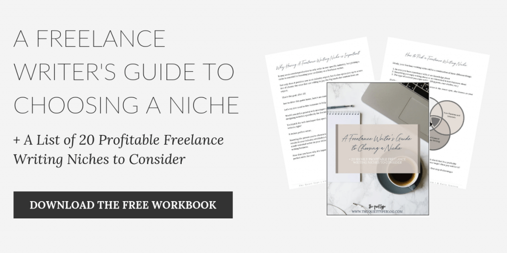 A Freelance Writer's Guide to Choosing a Niche + 20 Profitable Freelance Writing Niches to Consider