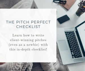 Learn how to write client-winning pitches (even as a newbie) with this in-depth checklist!