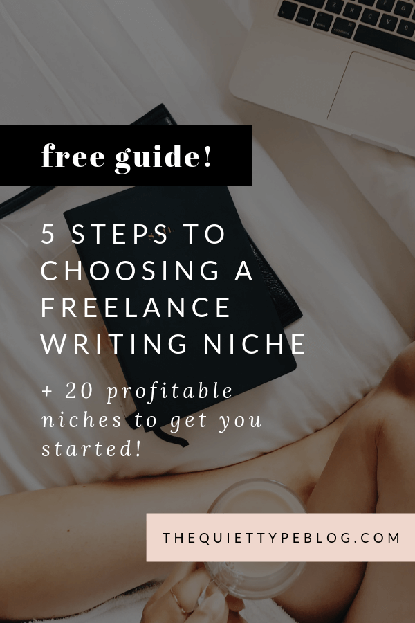 Profitable Freelance Writing Niches. Profitable Niches for Freelance Writers. Freelance writing niches for beginners. How new freelance writers can choose a niche. 5 steps to help you pick a freelance writing niche.
