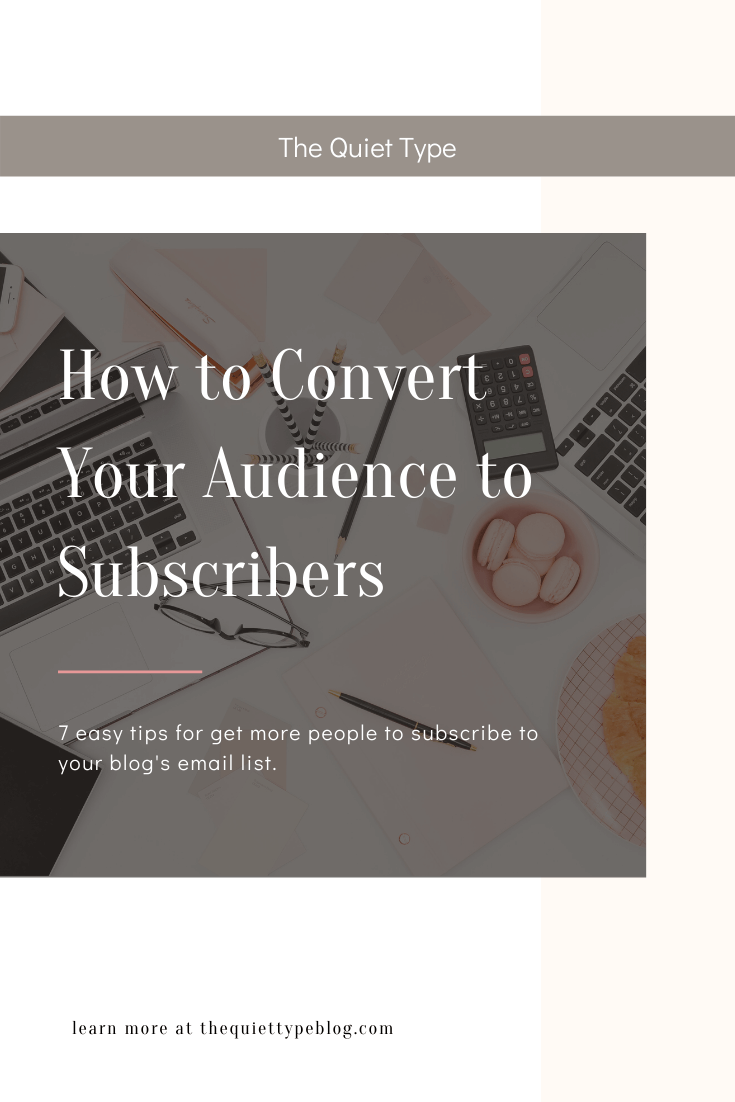 Get more email subscribers using these 7 easy tricks! | Increase blog subscribers | How to get people to subscribe to your blog | How to attract blog readers