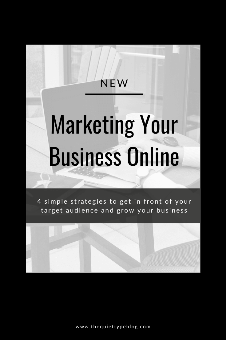 How to market yourself for freelance work using these 4 easy online marketing strategies. | How to market yourself as a freelance writer. | Best ways to market a small business online. | Freelance marketing tips for beginners. | Marketing your online business to find clients and make money online.