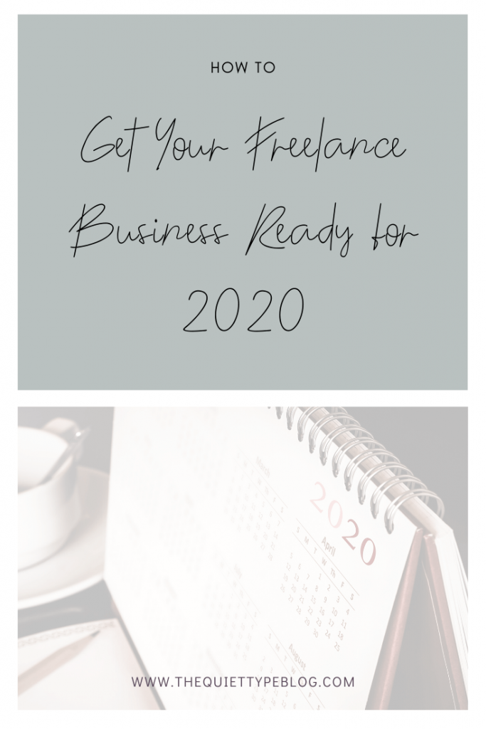 Get your freelance business ready for the new year using these 7 tips to ensure you start your business off on the right foot in 2020.