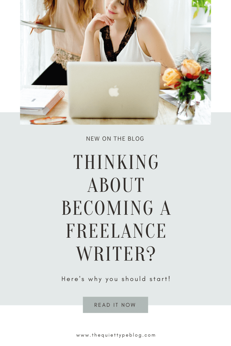Wondering if becoming a freelance writer is the right side hustle for you? Whether you're looking to start freelance copywriting or creating blog content, freelancing can be a great way to earn extra money working from home. But, that's not the only reason to start freelance writing! Click to read 5 reasons to start freelance writing in 2020.