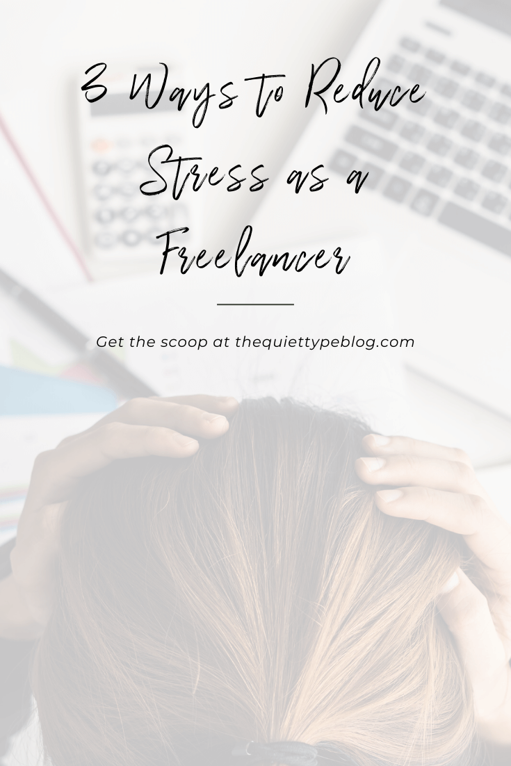 Feeling overwhelmed trying to run your freelance business? Check out these three hacks to help your reduce your stress as a freelancer, boost productivity, and achieve work-life balance.