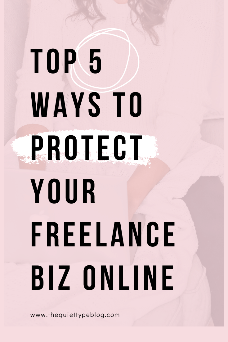 Protect your freelance business (and clients) online with these five easy to implement cyber security tips for freelancers.