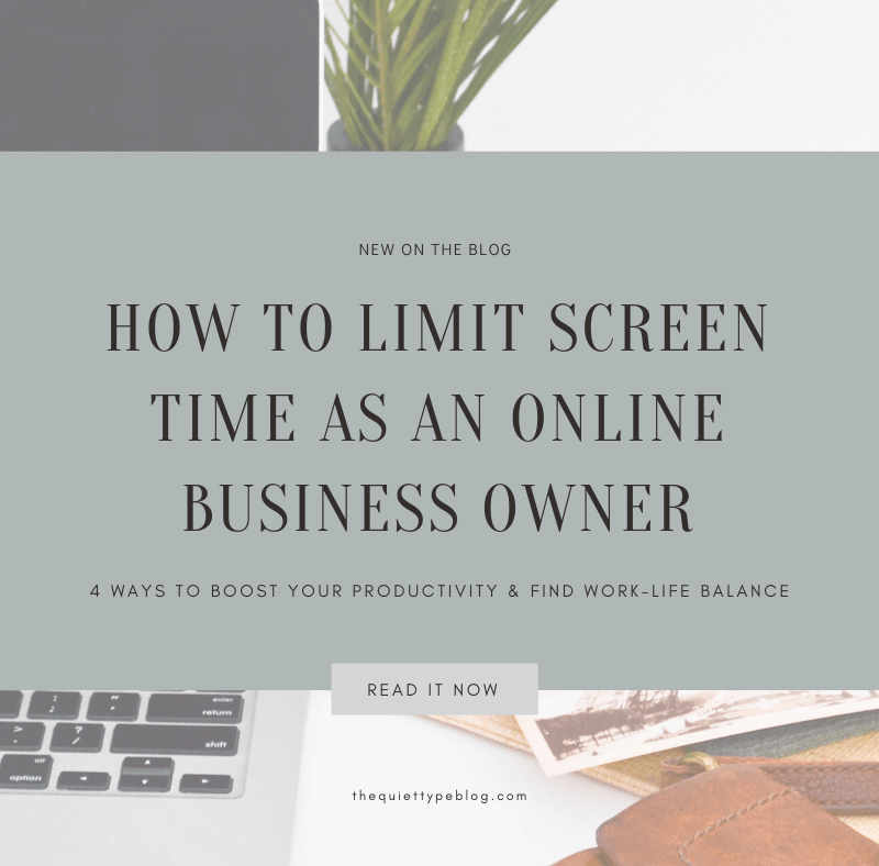Can Online Business Owners Limit Screen Time? (Hint: The Answer Is Yes!)