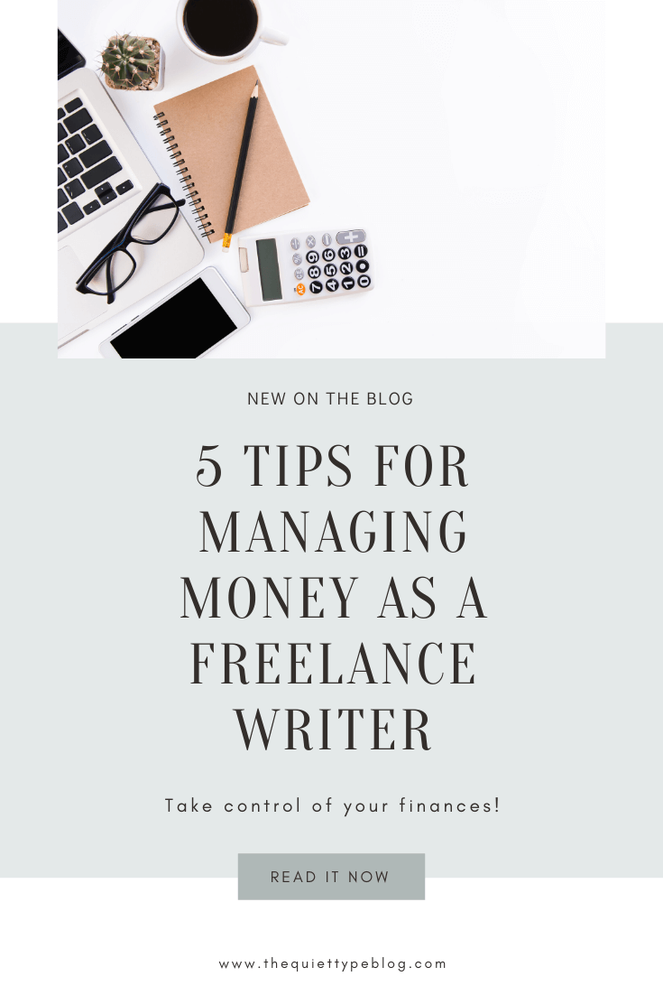 Feeling confused and overwhelmed about managing your income and expenses as a freelance writer? You're not alone! Making and managing money as a solopreneur or self-employed individual can be tricky. But, it doesn't have to be. Use these five tips to learn how to take control of your freelance finances and set yourself up for success.