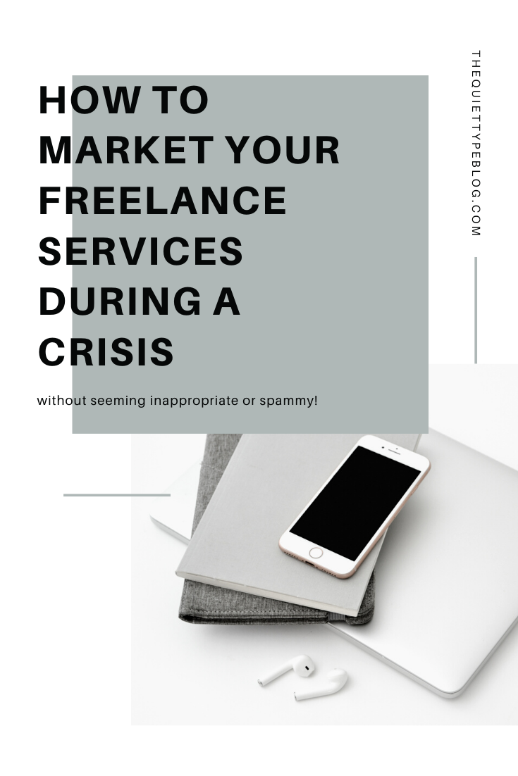Trying to market your freelance services during a crisis like COVID-19 can feel unnatural or inappropriate, but it doesn't have to! These five tips will teach you how.