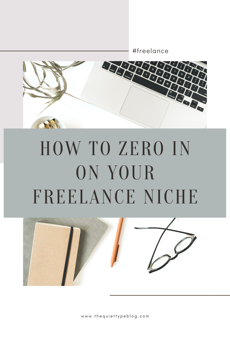 Clearly defining a niche is the first step to building a successful freelance business. In this guest post by Rosh of Roshyn Avenue, you'll learn how to finally zero in on your ideal niche and make it rain dollar bills! | Profitable Freelance writing Niche Ideas. Freelance Niche Ideas