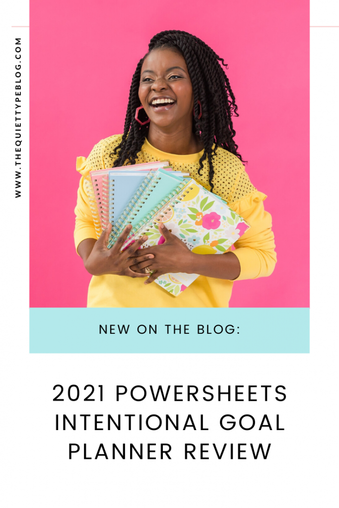 Is the PowerSheets Intentional Goal Planner for Cultivate What Matters the right goal planner for you? Get the scoop on whether it's worth the cost, what to consider, and if it can actually help you reach your goals! #powersheets2020 #goalplanner