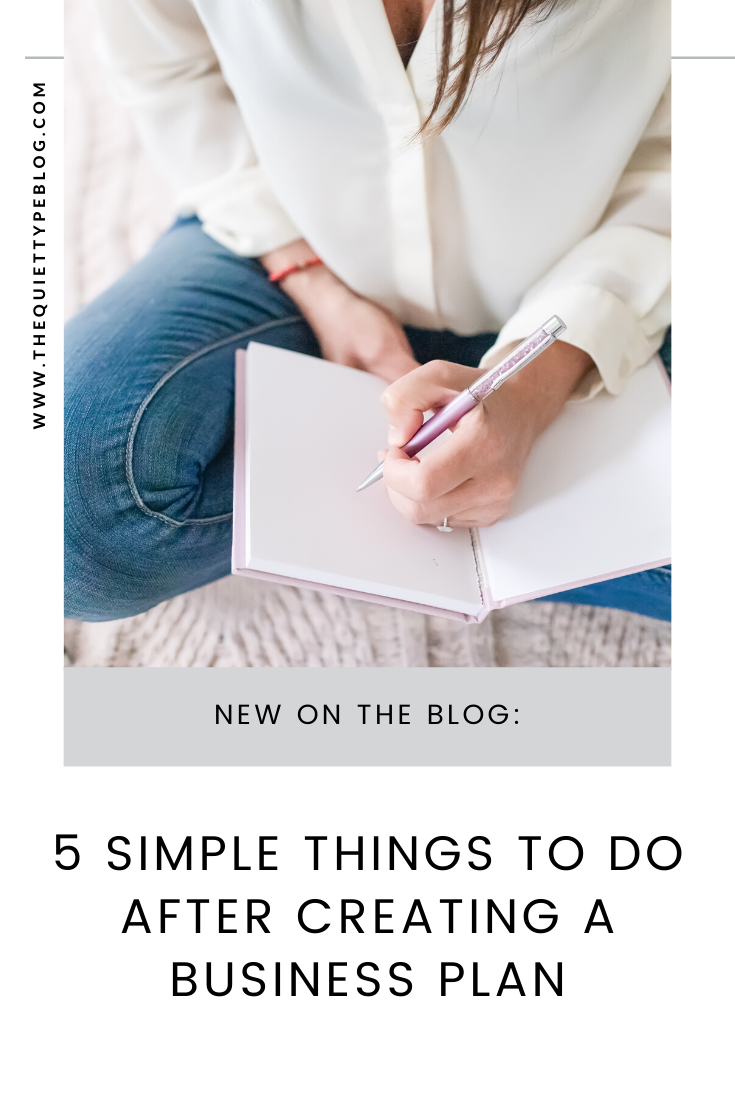 Have a business plan but don't know what to do next? Do these five things to stay on track and reach your business goals.