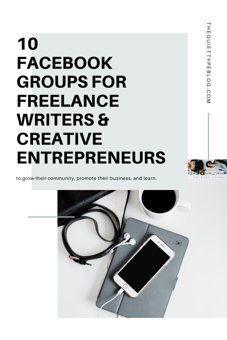 Looking to grow your community and network with other freelance writers and creative entrepreneurs? Check out these 10 Facebook groups!