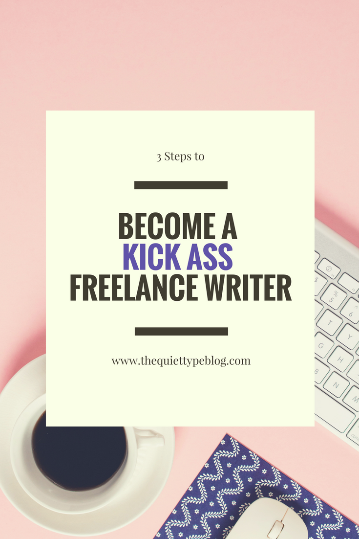 Have you ever wanted to make a living working from home? Maybe you're driven by the desire to be your own boss. Freelance writing can be the answer you're looking for! With these three easy steps, you can get started living your dream!