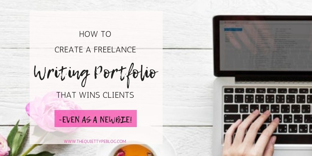 Don't let your fear of creating a writing portfolio stand in the way of you dream to be a freelance writer! With these easy steps, your portfolio will be up and running in no time and you can start pitching your services to your dream clients!