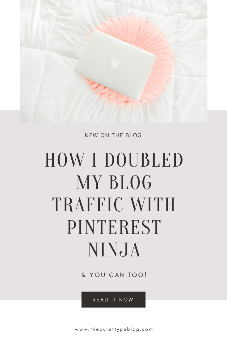 Looking to drive more traffic to your blog? Pinterest Ninja can help you do it! Here's how investing in Pinterest Ninja taught me to create click-worthy pins, drive traffic, and make money blogging. #pinterestninja #pinteresttips