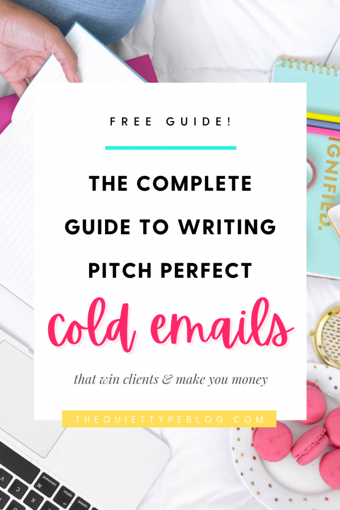 pitch perfect cold emails freebie the quiet type katie jenison