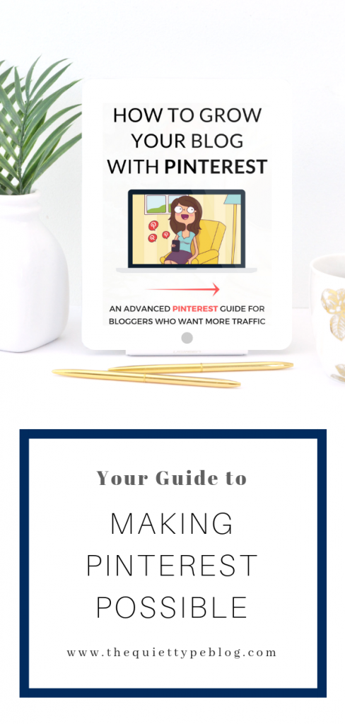Is The She Approach's Guide to Making Pinterest Possible worth the hype? Here's everything you need to know! #PinterestTips