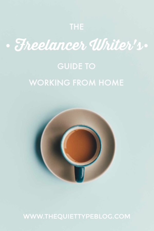 Everything you need to know about working from home as a freelance writer, blogger, or creative entrepreneur.
