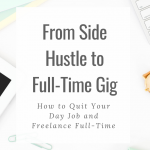 Has your freelance writing business taken off? Are you ready to quit your 9-5 job? Check out these tips on how to do it the right way! #freelance #businesstips