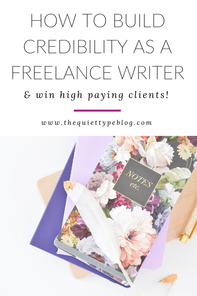 Building credibility as a freelance writer is an important step to winning clients. Here's how to establish credibility, even as a newbie to freelancing.