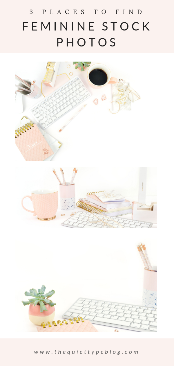 Add a girly touch to your blog and social media content using feminine stock photos.