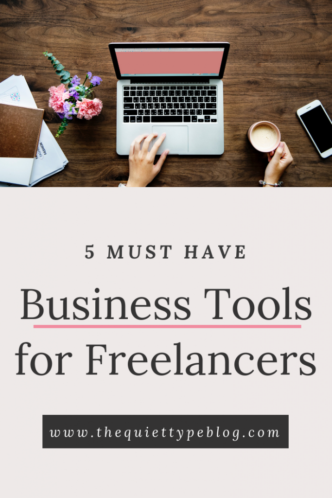 Stay organized and on task with these 5 business tools for freelancers and creative entrepreneurs.