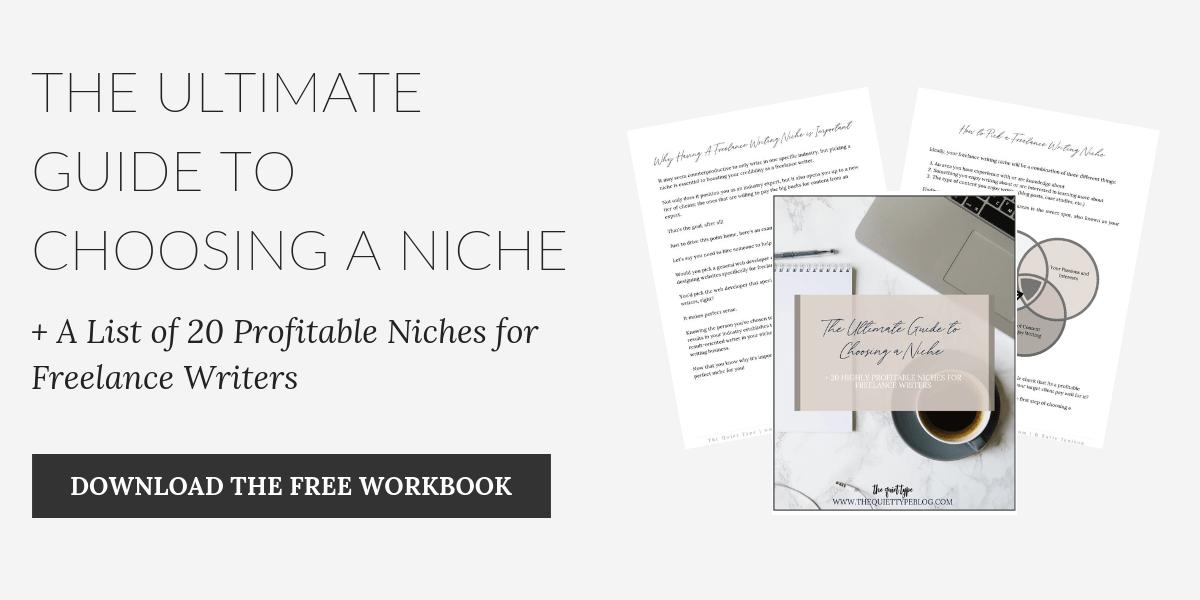 A Freelancer's Guide to Choosing a Profitable Niche (+20 Profitable Niches!)