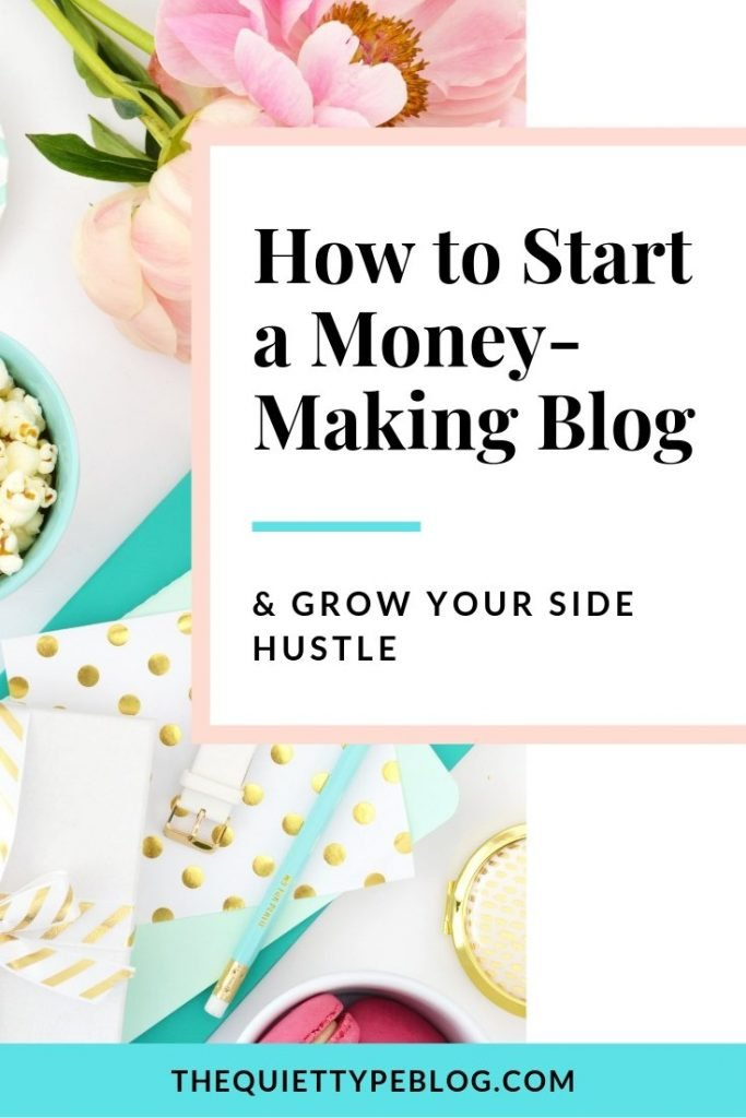 Start earning an income for you blog with these easy to implement blogging strategies. #makemoneyblogging #sidehustle #workfromhome