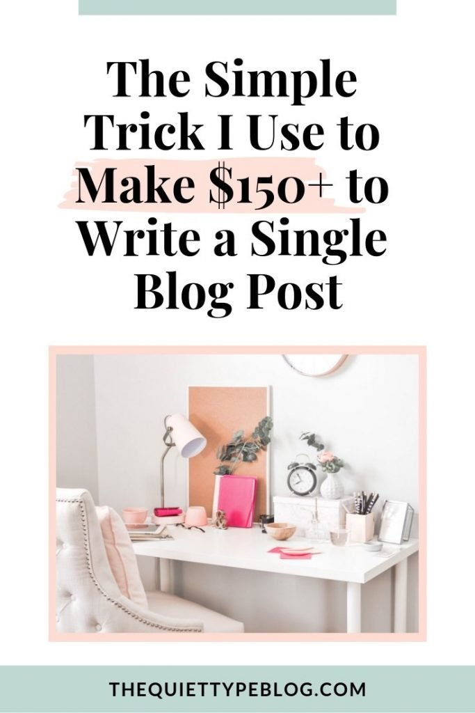 Use this super easy trick to win more freelance writing clients and make more money working from home! #makemoney #workfromhome #sidehustle