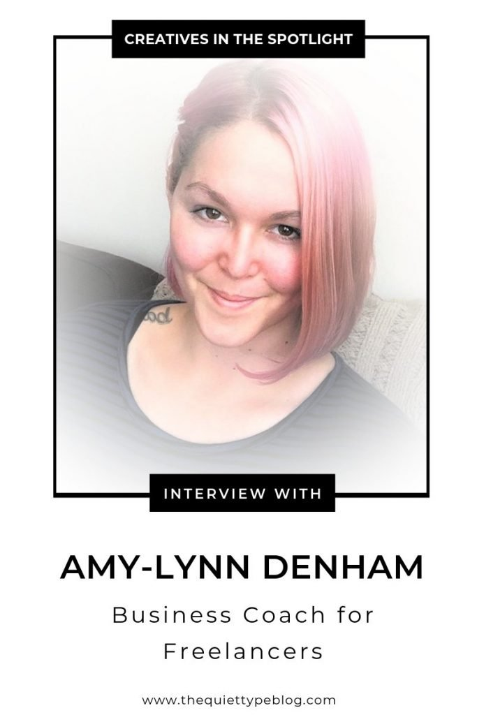 Here's how Amy-Lynn Denham used her experience as a freelance writer to start a coaching business that inspires and helps other freelancers reach their business goals. #businesscoach #freelancer #businesstips #creativesinthespotlight